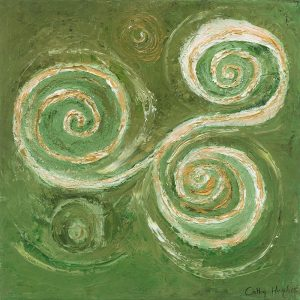 PRODUCT - Celtic Spiral (Trinity) card