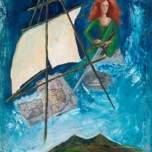 PRODUCT - Ireland's Pirate Queen Grace O' Malley card